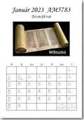 A minta naptár oldalak megtekintéséhez kattintson IDE!